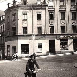 Fassade in den 20-er Jahren